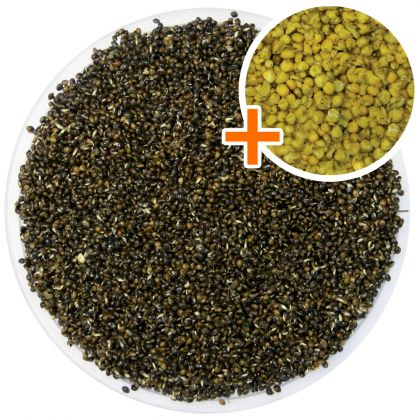 DNA Baits Boilie Flavoured Prepared Hemp & Maize: click to enlarge